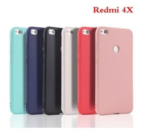 Funda Protector Case Xiaomi Redmi 4x De Tpu Silicona Blanco