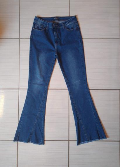 Calça Jeans Cintura Alta Tamanho 44 Produto Usado Brechó