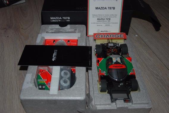 Miniatura Mazda 787b Lemans Winner 1991 Auto Art 1/18