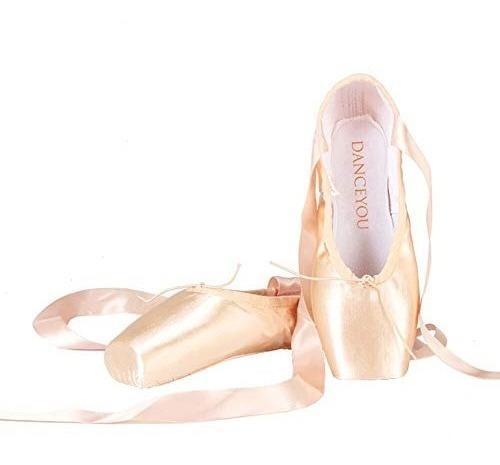 Bailar Zapatillas Profesionales De Ballet Con Punta De Saten