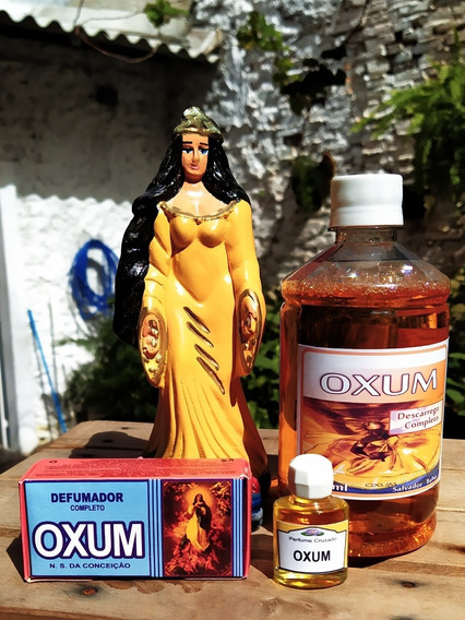 Kit Para Oxum, Imagem, Banho, Perfume E Defumador. + Brinde