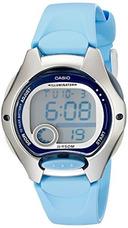 f389f4d9687d Reloj Digital Con Correa De Resina Azul Lw200-2bv De Casio P