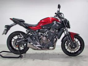 Yamaha - Mt 07 Abs - 2017 Vermelha
