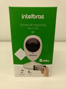 Câmera De Segurança Intelbras Sem Fio Mibo Ic3