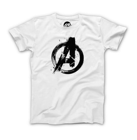 Playera Grapics Avengers Logo Marvel Comics Heroes Endgame H