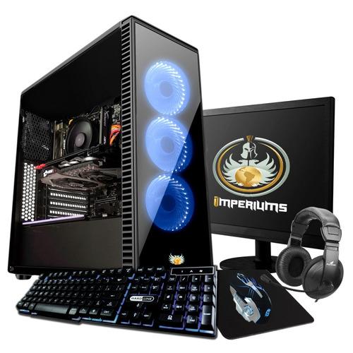 Pc Completo Gamer I5 2400, Geforce 2gb! + 30 Jogos!