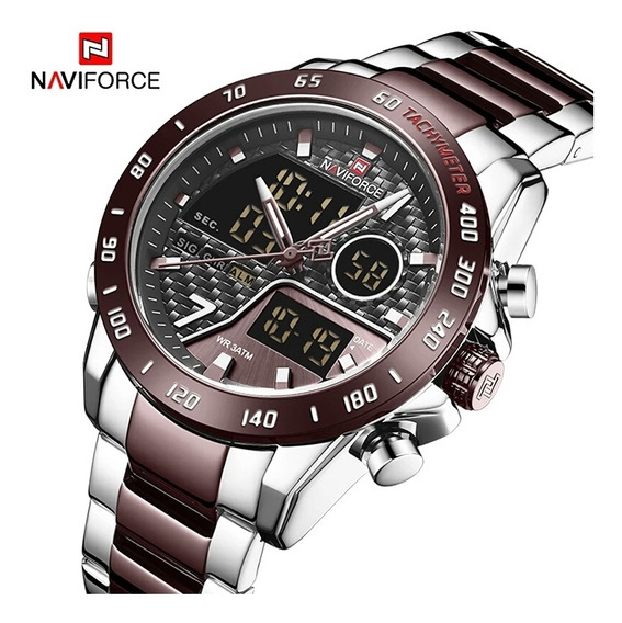 Relógio Masculino Militar Naviforce 9171 Original Promoção