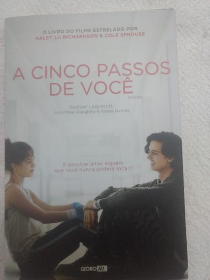 Livro A Cinco Passos Ate Voce/novo/lancament/romance/lacrado
