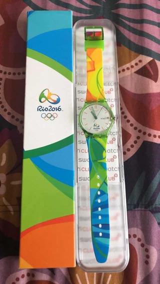 Relógio Swatch Rio 2016