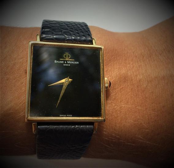 Relógio De Ouro Maciço 18kilates (baume & Mercier)