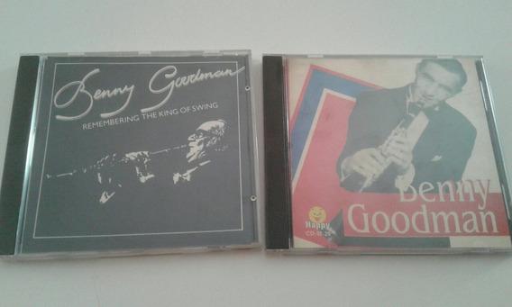 Lote 2 Cd Benny Goodman Jazz Swing Remembering The King