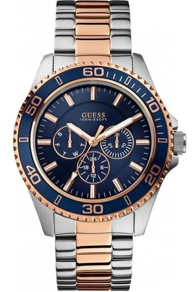 Relógio Guess Masculino Azul 92488gpgsga2 /w0172g3