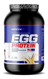 Egg Protein 1 Kg Mervick Lab Proteína De Huevo 0% Lactosa Ovoalbumina