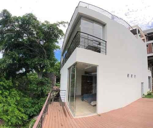 Cad Villa Diamante Casa 6. Terraza Con Vista Al Mar. Aberca