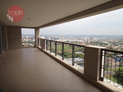Apartamento Com 4 Dormitórios À Venda, 507 M² Por R$ 3.500.000,00 - Residencial Morro Do Ipê - Ribeirão Preto/sp - Ap6482