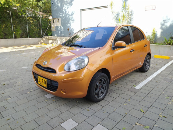 Nissan March Mt 1600 Naranja