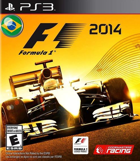 F1 2014 Formula 1 Portugues - Jogos Ps3 Playstation 3