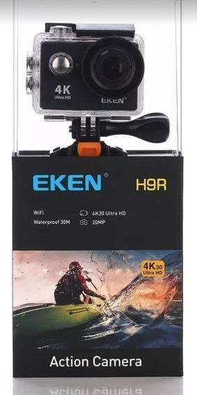 Camera Eken H9r 4k Original Wifi+suporte Peitoral
