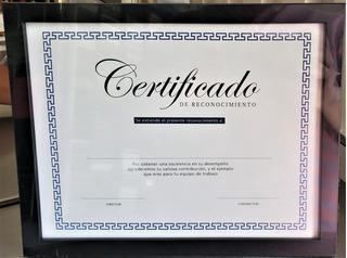 Marco Para Diploma Tamaño Carta Negro