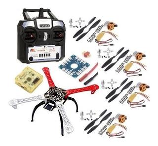 Dron Cuadricoptero F450 + Control Rc