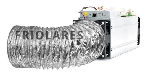 Ducto 6 Pulgadas Ventilacion Antminer Con Aislante De Ruido