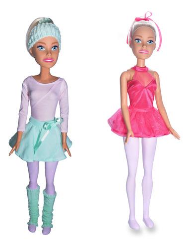 Barbie Profissões Boneca Grande Bailarina 70cm Articulada