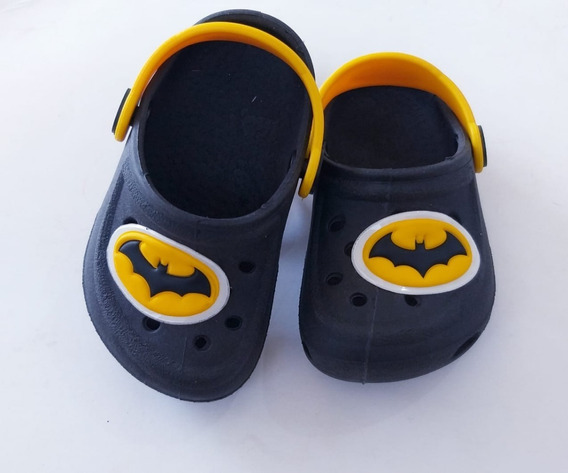 Sandalia Sapatilha Babuche Infantil Batman (17 A 24)