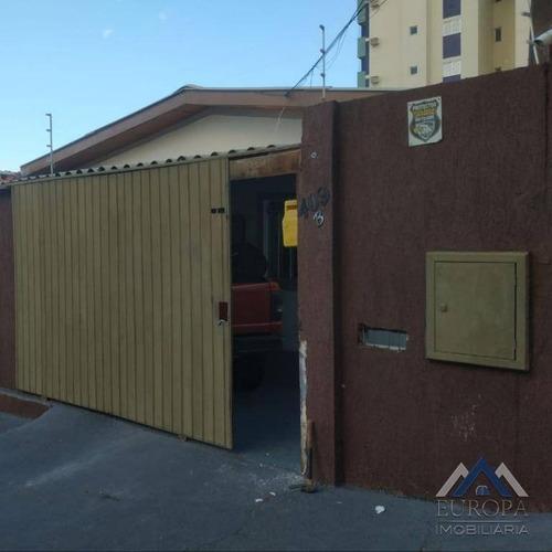 Imagem 1 de 15 de Casa Com 4 Dormitórios À Venda, 220 M² Por R$ 520.000 - Vila Ipiranga - Londrina/pr - Ca0820