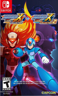 Megaman X Legacy Colection 1 Y 2 Nintendo Switch (d3 Gamers)