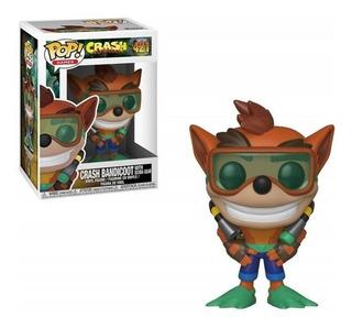 Funko Pop Crash Bandicoot C Scuba 421 Baloo Toys