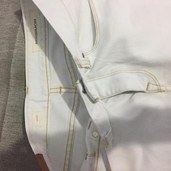 Pantalón Blanco Bensimon Talle 30 M
