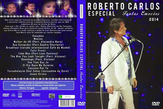 Dvd Roberto Carlos - Especial Final De Ano - 2014