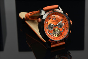 Relógio Calvaneo 1583 Astonia Project Orange Automatico