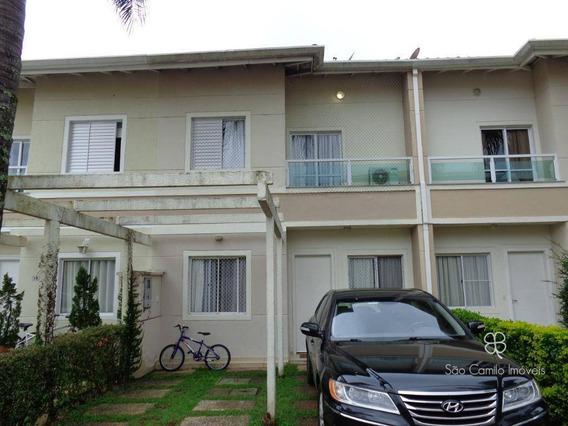 Casa Com 3 Dormitórios À Venda - Residencial Village Wimblendom- Granja Viana - Cotia/sp - Ca1510