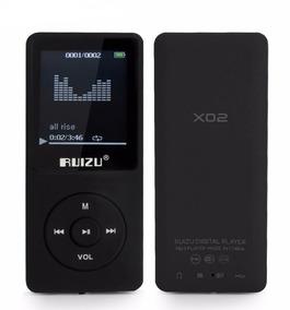 Mp3 Player Ruizu X02 4gb Rádio Fm Gravador De Voz Original