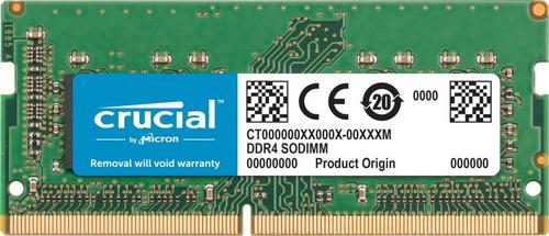 Imagen 1 de 2 de Memoria Ram Crucial Ddr4 16gb 2666mhz Ct16g4s266m Para Mac