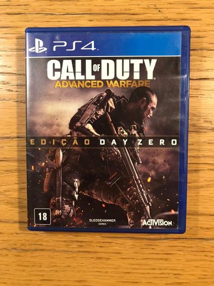 Jogo Ps4 - Call Of Duty Advanced Warfare Day Zero Edition