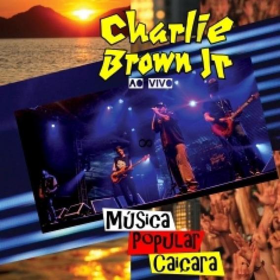 Cd Charlie Brown Jr - Música Popular Caiçara Ao Vivo - 201