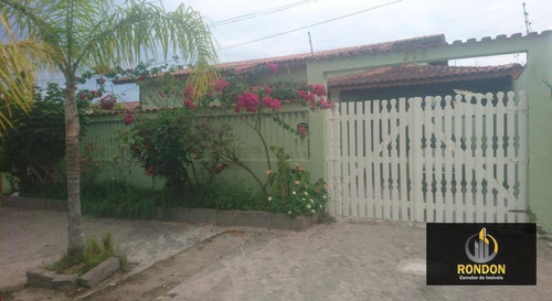 Casa Com 3 Dormitórios À Venda, 143 M² Por R$ 370.000 - Jardim Santa Tereza - Itanhaém/sp - Ca1414