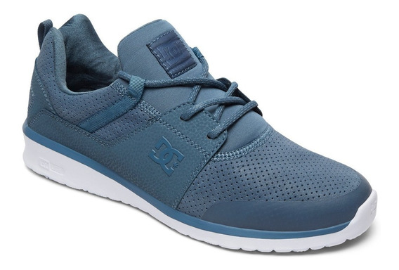 Zapatillas Dc Shoes Mod Heathrow Prestige Azul Petroleo