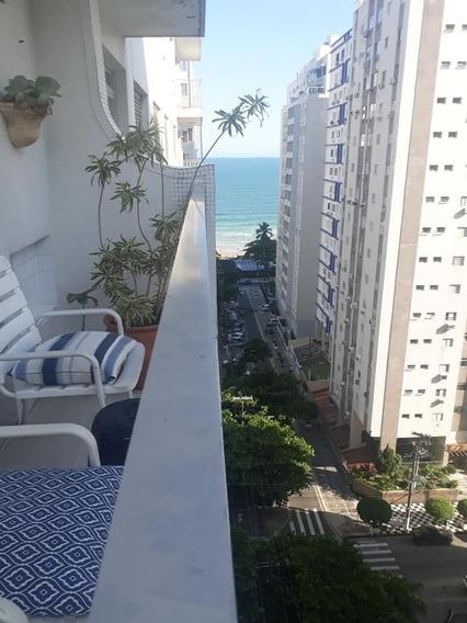 Guarujá-pitangueiras. Lindo E Decorado!! Á 80 Mts Do Mar!!!