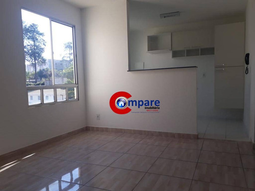 Imagem 1 de 12 de Apartamento À Venda, 45 M² Por R$ 155.000,00 - Bonsucesso - Guarulhos/sp - Ap9349