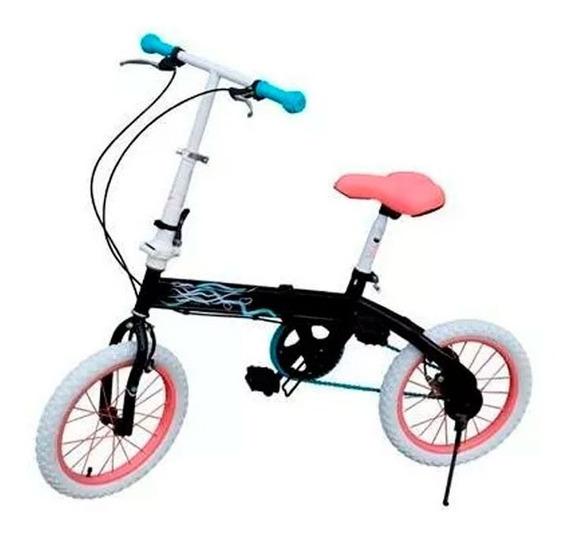 Bicicleta Bia Rodado 16 Plegable 021-7152