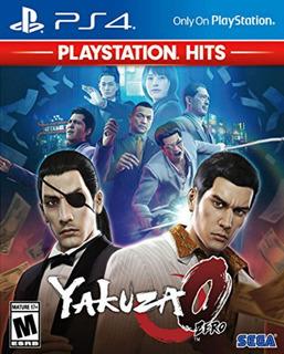 Ps4 - Yakuza 0 Playstation Hits - Nuevo Y Sellado - Ag