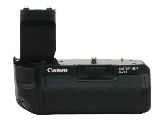 Grip Canon Bg-e3 - Eos Rebel Xti Novo - Original - Garantia