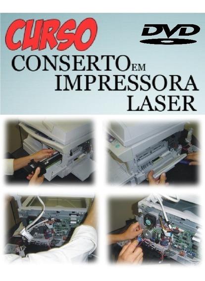 Curso De Manutenção Impressoras A Laser Em Dvd