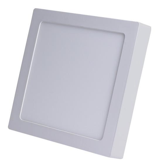 Luminária Led 24w Sob 30x30 Biv Branco Quente 3000k Avant