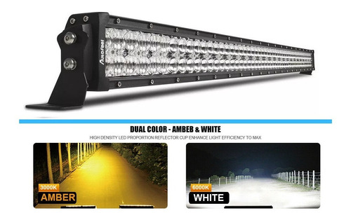 Barra Led 52 Pulgadas 1200w Autofeel Doble Color + Cableado