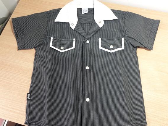 Camisa Manga Corta Nene