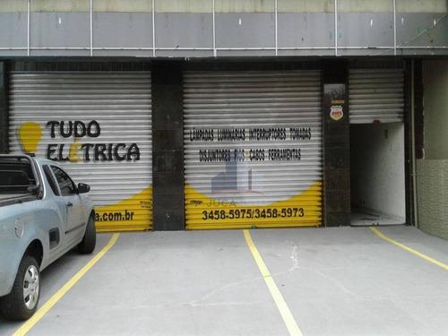 Salão Para Alugar, 300 M² Por R$ 9.000,00/mês - Centro - Santo André/sp - Sl0149